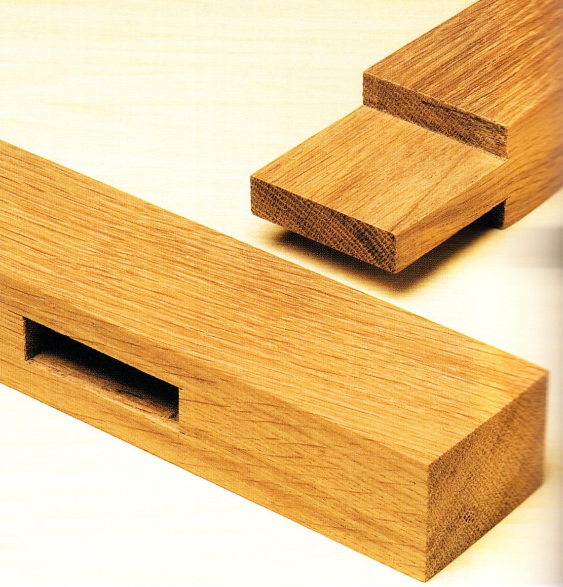 wooden mortise and tenon joints